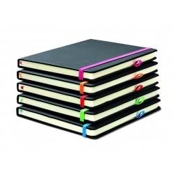 Carnet de notes noir format A5 avec 96 feuilles