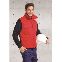 Bodywarmer workwear polycoton