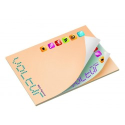 Bloc papier repositionnable standard ou feuillets alternés