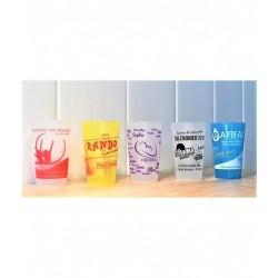 Verre gobelet plastique réutilisable 30 cl