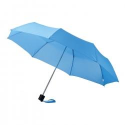 "Parapluie 3 sections 21,5"" Ida, bleu"