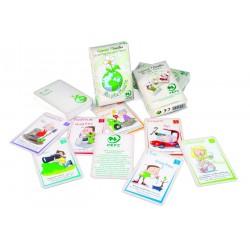 """Jeu de 44 cartes familles """"Ma jolie planète"""" 100% recyclé"""