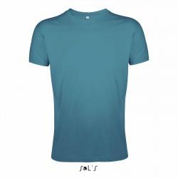 Tee-shirt couleur femme ou homme semi-peigné 150 g