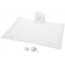 Poncho ds emballage rond blanc