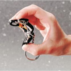 Porte-clés création pvc souple 2D ou 3D Gunnar jusqu'à 5cm - 1 A 4 COULEURS