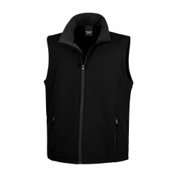 Bodywarmer softshell 2 couches homme 280 g