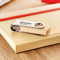 Clé USB Twister bois