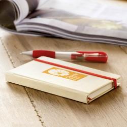 Carnet de notes carton recyclé Poly A6