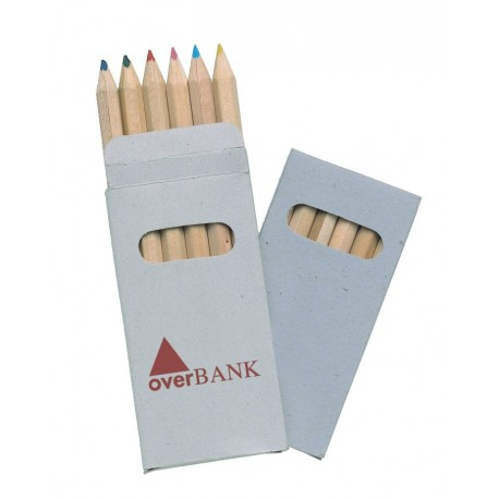 Boîte de 6 crayons de couleur Salla