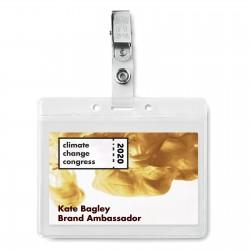 Porte-badge Clip