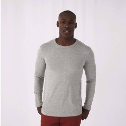 Tee-shirt manches longues homme Bio 140 g couleur