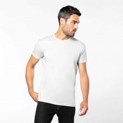 Tee-shirt femme ou homme Bio 140 g blanc