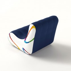AIRSOFA structure gonflable PVC souple 1 place 88 x 75 x 74 cm
