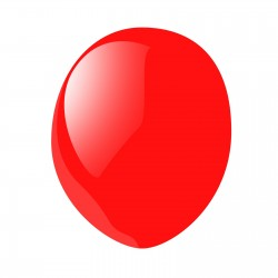 Ballon de baudruche biodégradable Rianne