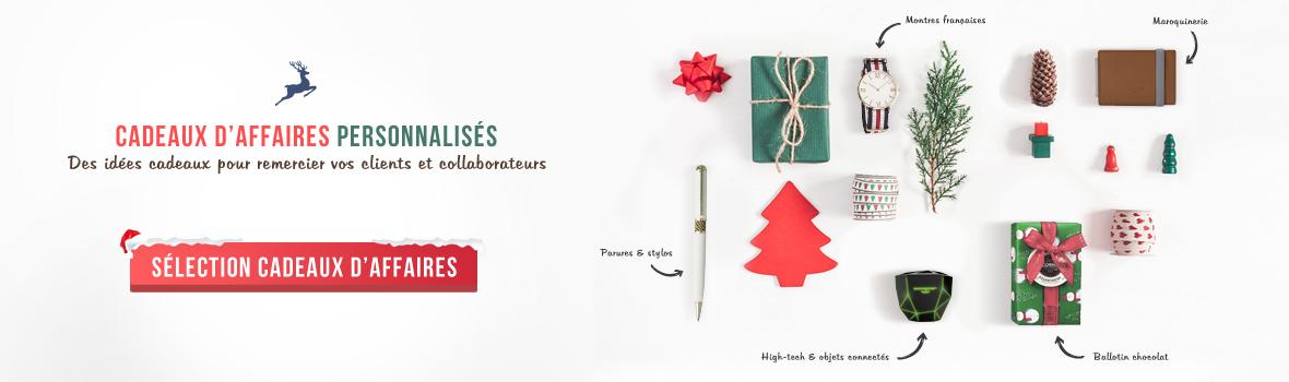 Cadeaux d'affaires, montres, chocolat, ballotin, parures et stylos, maroquinerie, high-tech et objets connectés