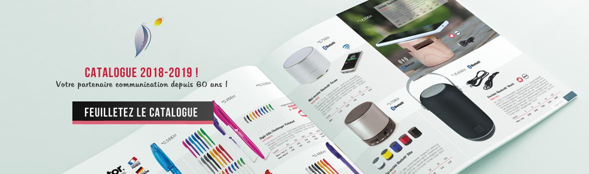 Catalogue objets publicitaires personnalisables 2018-2019